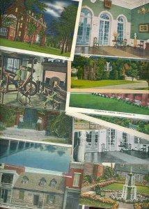cpc113 postcard collection FIFTY Mt Vernon Virginia