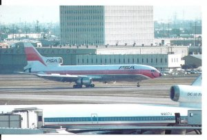 Pacific Southwest Airlines Lockheed L-1011 Los Angeles International CA PC11267