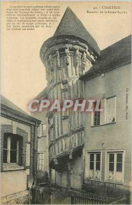 Old Postcard Chartres Queen's Staircase Berthe