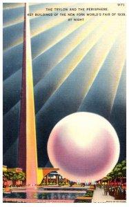 New York  Worlds Fair 1939 ,  Trylon and Perisphere