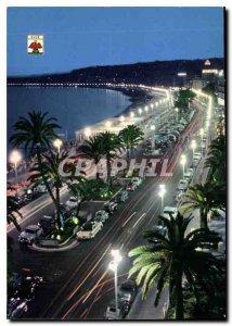 Modern Postcard Alpes-Maritimes Nice Promenade des Anglais