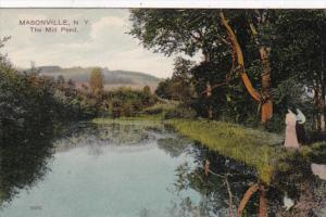 New York Masonville The Mill Pond