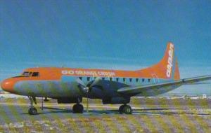Aspen Airways Convair CV-440 At Stapleton Airport Denver Colorado
