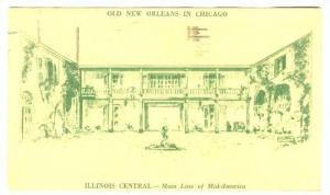 New Orleans, Louisiana Exhibit, Chicago Railroad Fair, 1949 ILLINOIS, PU 1949