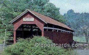 Kings, New Lexington, PA USA Covered Bridge Unused