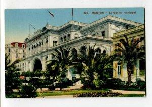 3108684 France MENTON Le Casino municipal Vintage postcard