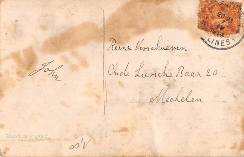 Dreamy Man, Suit, Cherubs Je voudrais, emu, conduire a l'Autel Messange 1914