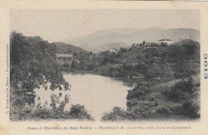 Viet Nam , 1908 ; Postes et Blockhaus du Haut-Tonkin