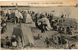 CPA La Rochelle-La Plage a l'heure des bains (45295)