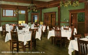 NH - Hooksett. Riverside Inn, Main Dining Hall