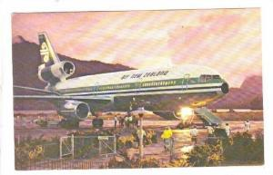 Air New Zealand DC-10 SEries 30 Jet airplane, 60-70s