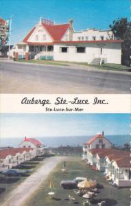 Auberge Ste-Luce Inc. Ste-Luce-Sur-Mer, Cte Rimouski, Quebec, 1960-70s