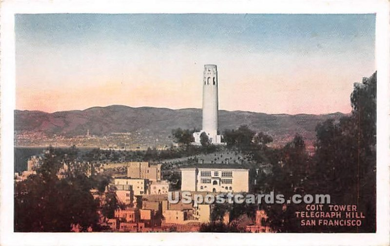 Coit Tower, Telegraph Hill - San Francisco, CA
