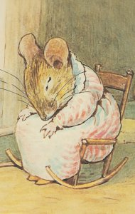 The Tale Of Mrs Tittlemouse 1910 Beatrix Potter Book Soap Postcard