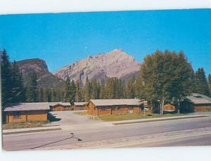 Unused Pre-1980 COTTAGE SCENE Banff Alberta AB c2535