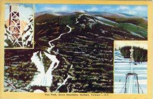 [ Linen ] US Vermont Rutland - Pico Peak
