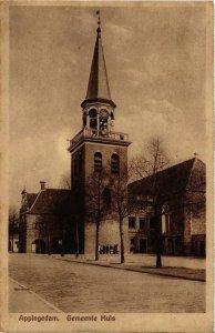 CPA APPINGEDAM Gemeentehuis NETHERLANDS (705914)