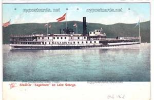 Steamer Sagamore, Lake George NY