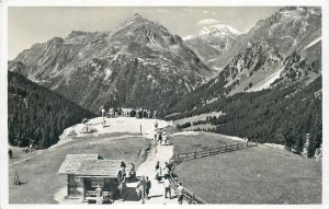 Switzerland Maloja Kulm view Postcard