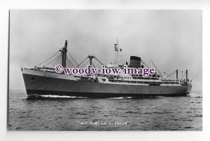 cb0457 - Port Line Cargo Ship - Port Launceston , built 1957 - postcard
