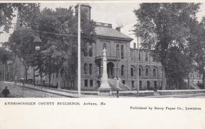 AUBURN , Maine, 00-10s; Androscoggin County Buildings
