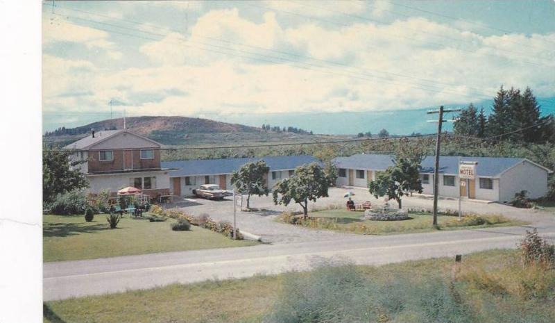 Empire Motel, Mr. & Mrs. Art Otto, Creston, British Columbia, Canada, 40-60s