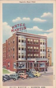 Opposite Mayo Clinic Hotel Martin Rochester Minnesota