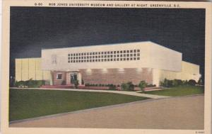 South Carolina Greenville Bob Jones Universsity Museum and Gallery At Night