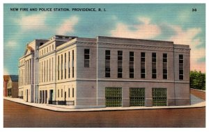 Rhode Island  Providence  Fire and Police Station