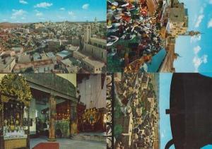 Bethlehem Market Entrance To Holy Manger Christmas Bells Aerial 4x Postcard s