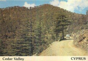 Cyprus Cedar Valley postcard