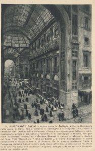 MILANO, Lombardia, Italy, 1900-1910's; Ristorante Savini