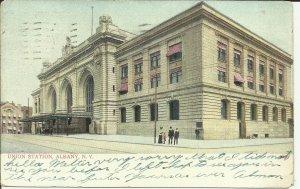 Union Station, Albany, New York   '1909'