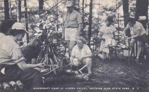 New York Watkins Glen State Park Woodcraft Camp At Hidden Valley Artvue