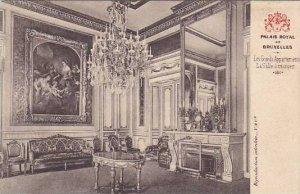 Belgium Brussels Les Grands Appartements La Salle a manger Palais Royal de Br...