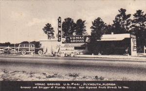Florida Plymouth Vomac Groves Grower and Shipper Of Florida Fruit