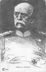 Prince von Bismarck Otto von Bismarck Germany c1900s Antique Vintage Postcard