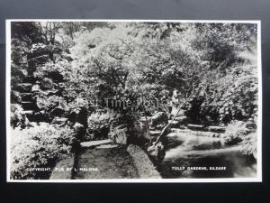 Ireland KILDARE Tully Gardens - Old RP Postcard by L. Malone