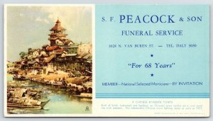 Milwaukee Peacock Funeral Home~Blotter~Chinese River Town~Nation Fought Japanese