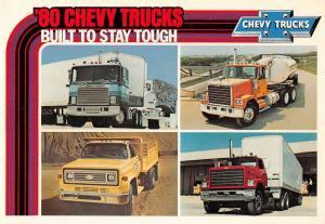 Chevrolet 1980's Chevy Trucks Industrial Auto Advertising Postcard JA4741470