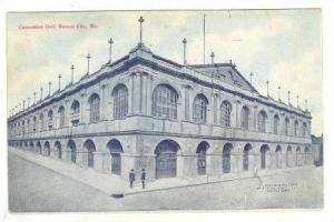 Exterior, Convention Hall, Kansas City, Missouri,  PU-1908