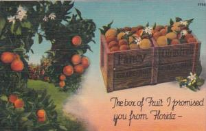 Florida The Box Of Fruit I Promised You From Florida