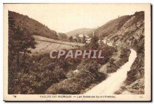 Postcard Old Noireau of Les Rochers Vallee Saint Pierre
