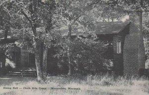 Wisconsin Wausaukee Dining Hall Chalk Hills Camp Albertype