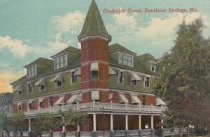EXCELSIOR SPRINGS, Missouri, PU-1913; Chadwick Hotel
