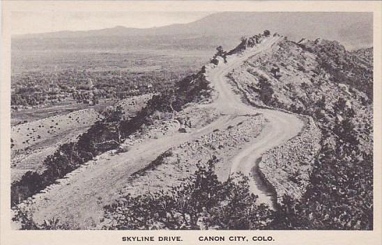 Colorado Canon City Skyline Drive Albertype