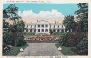 SPENCERWOOD, Quebec, Canada, 1900-1910's; Governor's Residence