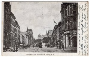Albany, N.Y., State Street from Broad Street