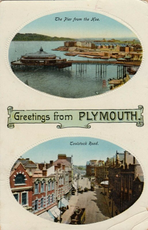 PLYMOUTH , England , 1922 ; TUCK 1927
