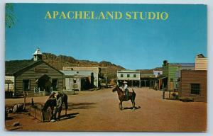 Postcard AZ Apacheland Studio Motion Picture Film Movie Lot c1960s M03